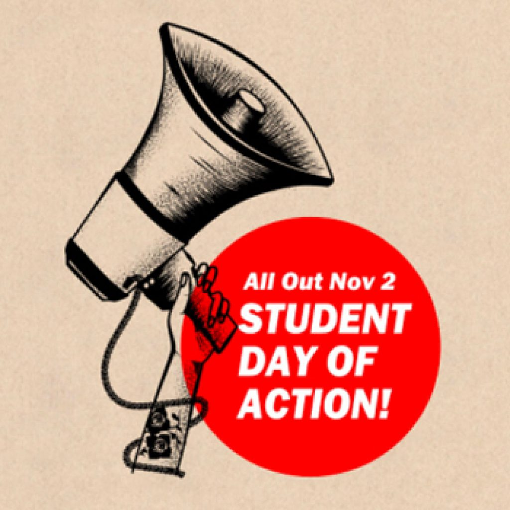 Students across Canada call for free education on the National Day of Action