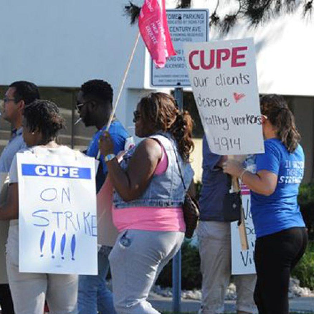 Peel CAS strike ends after 13 weeks