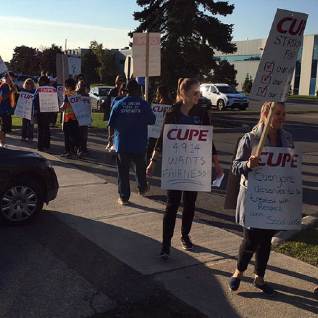 """Peel CAS workers overwhelmingly reject """"final offer"""" in supervised vote"""