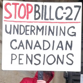 CUPE 2361 - NEWS - Bill C-27 Paving the way for privatization