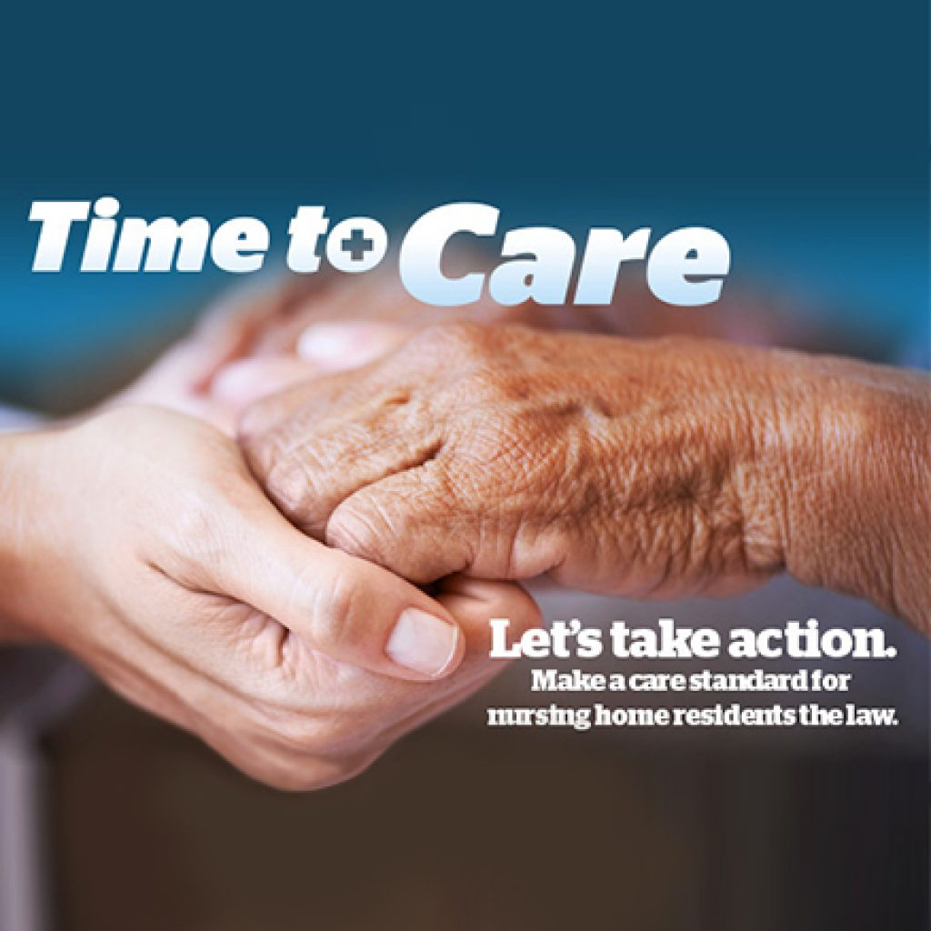 It's Time To Care: Ontario Seniors Need A Minimum 4-Hour Daily Care Standard To Be The Law