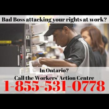 CUPE 2361 - NEWS - The retaliation must stop against low-wage workers (1)