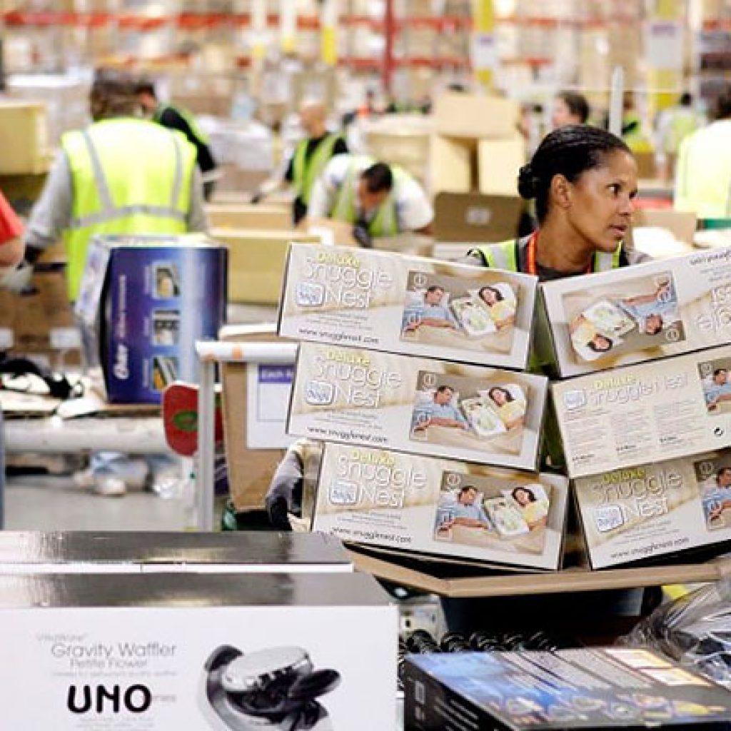 Amazon is a 21st-century digital chain gang