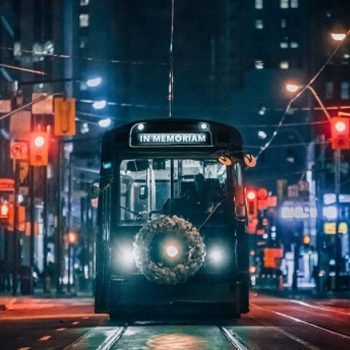 CUPE 2361 - NEWS - Empty black streetcar in Toronto marks National Day of Mourning for workers