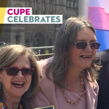 CUPE 2361 - NEWS - Pink Triangle committee member receives Key to the City of Toronto