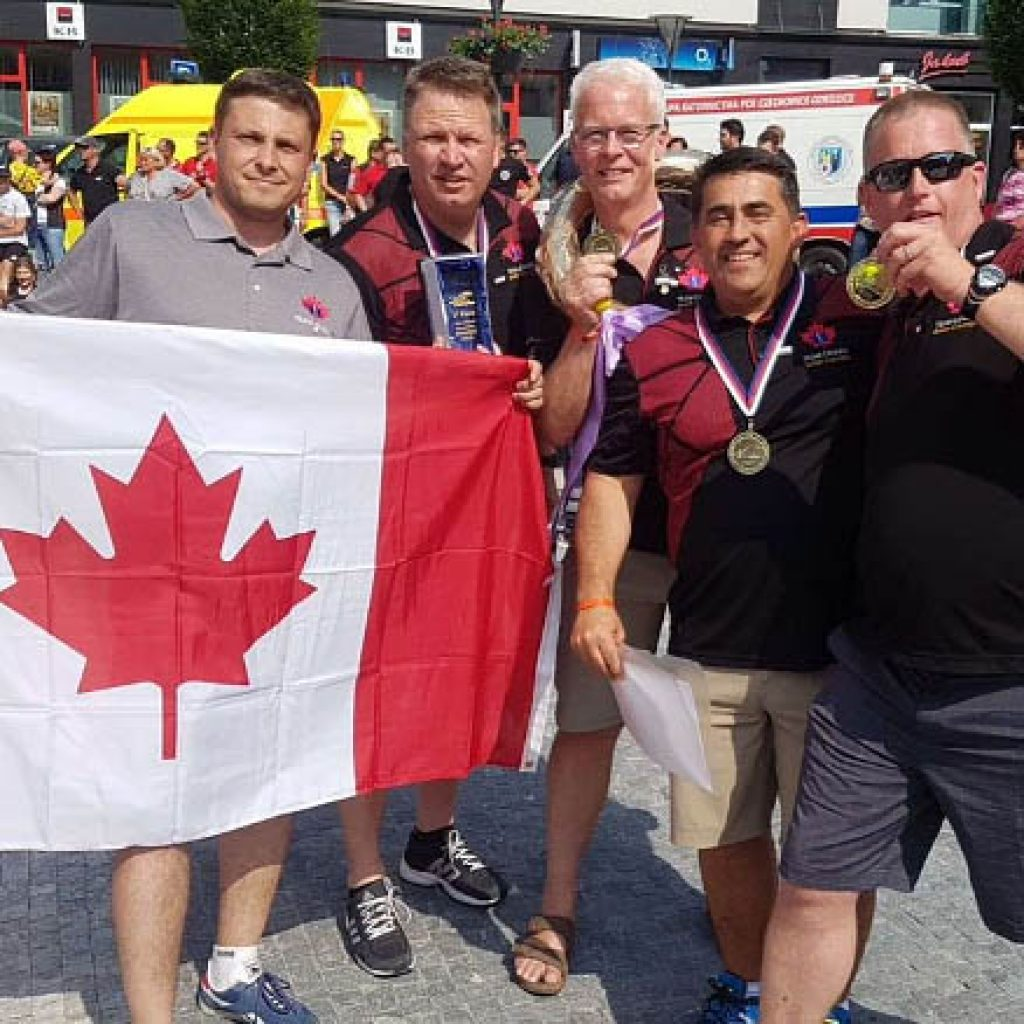 B.C. paramedics win gold at international competition