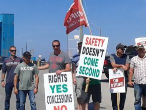 CUPE 2361 - NEWS - Support building for salt miners as company refuses to negotiate