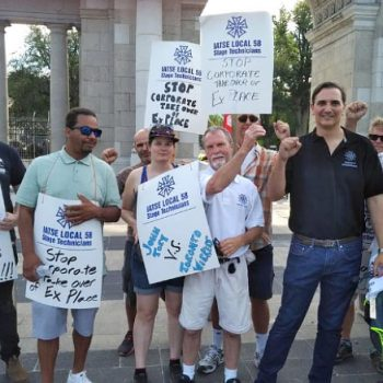 CUPE 2361 - NEWS - CUPE Ontario urges solidarity with locked out IATSE Local 58