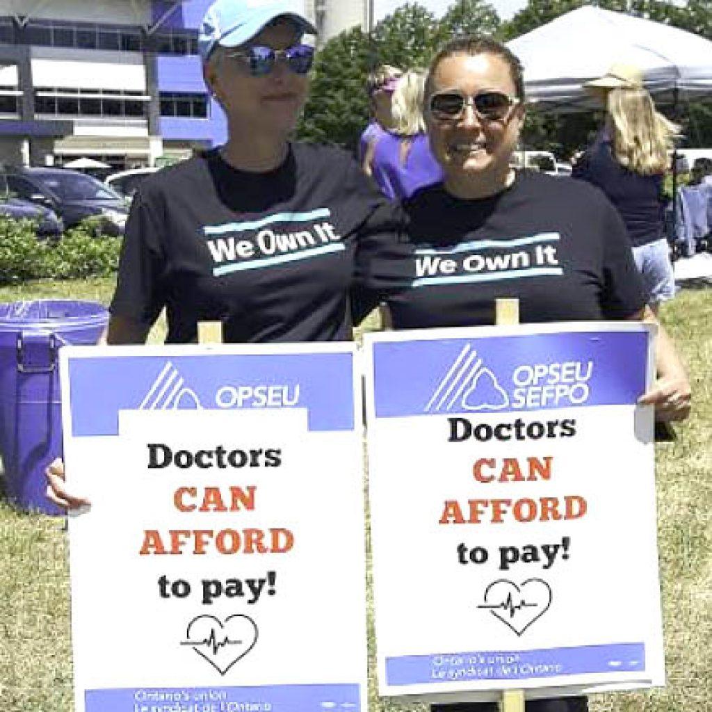 Family Health Organization strike continues
