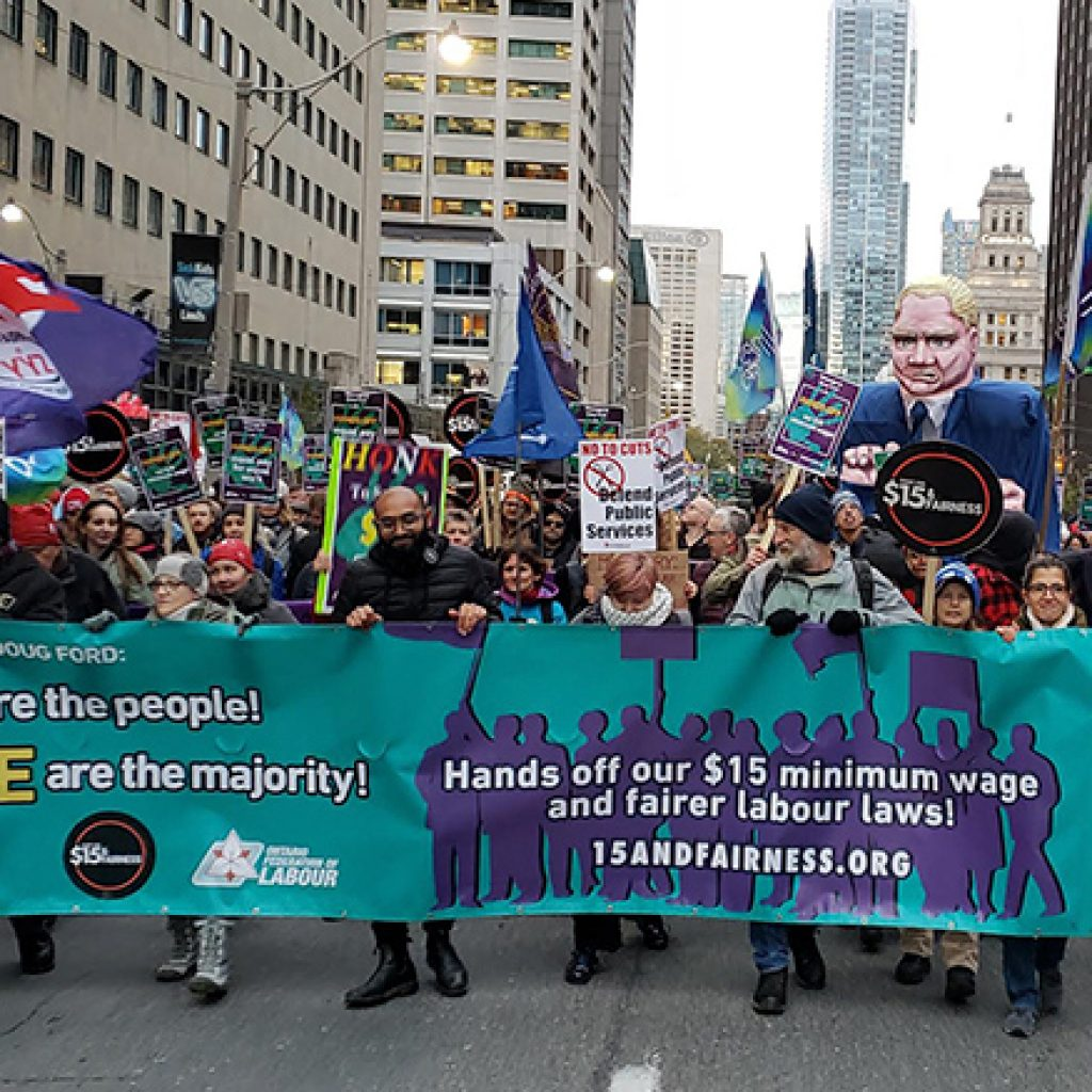 The fight for $15 and Fairness after Bill 47