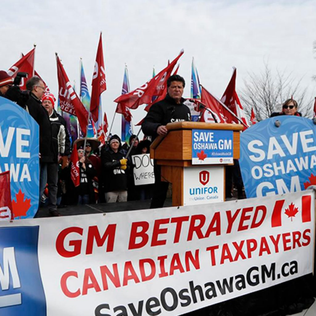 GM tells Ottawa, Queen's Park that Oshawa assembly plant will definitely close