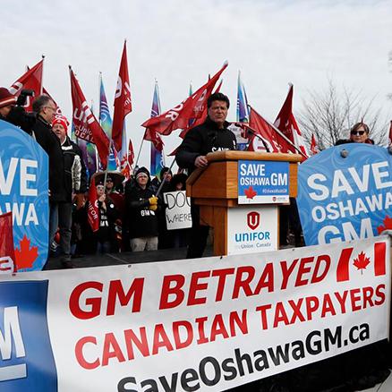 GM tells Ottawa, Queen's Park that Oshawa assembly plant will definitely close