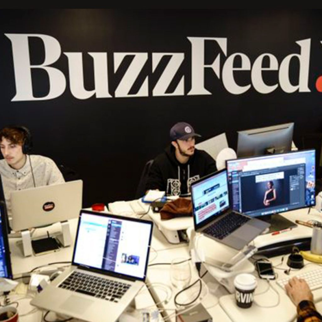 Workers at BuzzFeed declare intention to unionize
