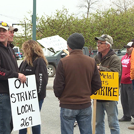 Sheet metal workers return to negotiations with contractor's association