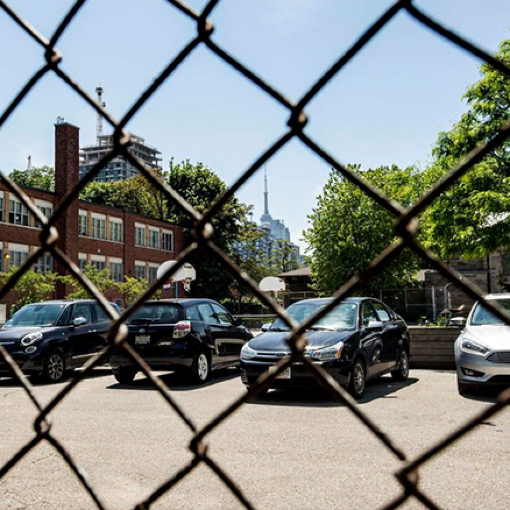 Catholic teachers want school board to put brakes on plan to make them pay to park