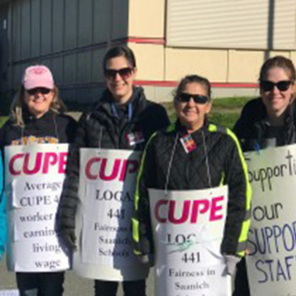 CUPE 441 calls on Saanich School District to get back to the table