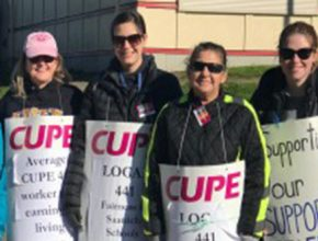 CUPE2361---NEWS---November---CUPE 441 calls on Saanich School District to get back to the table