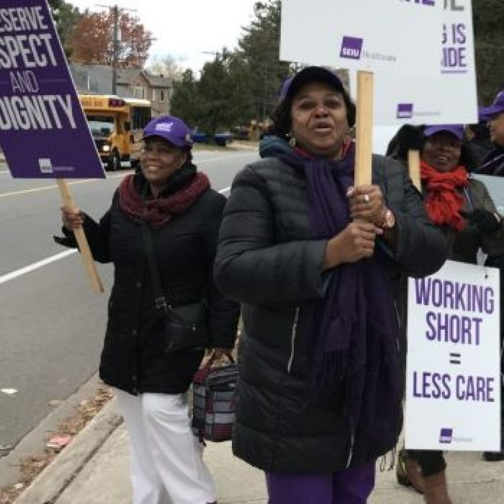 Ford invokes wage cap law for long-term care workers