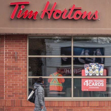 A Tim Hortons boycott is trending because of the company's sick day policy during COVID-19