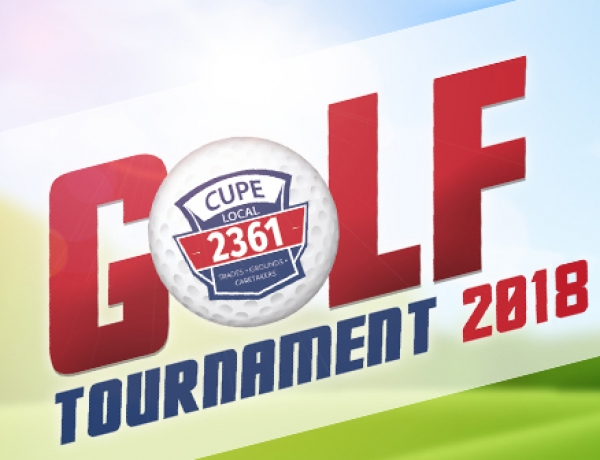 CUPE 2361 Golf Tournament