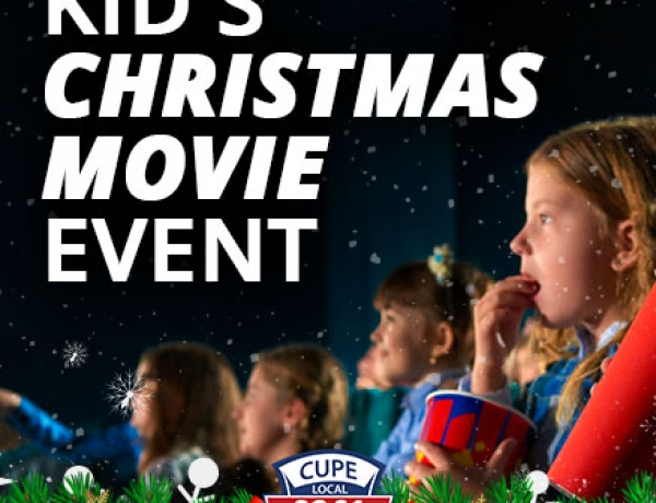 Kid's Christmas Movie Event