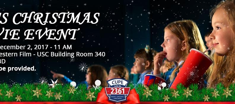 Kid's Christmas Movie Event