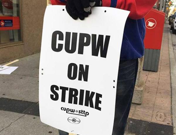 Postal union rotating strike hits Toronto today