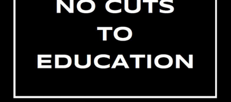 CUPE education workers rally to defend Ontario's public education system from Ford government cuts