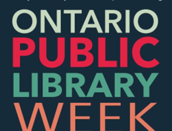 Ontario Public Library Week: October 16 – 22, 2016