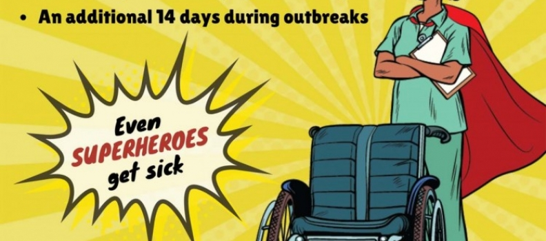 Heroes need decent working conditions – supporting workers during the pandemic, and after